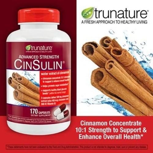 Viên uống Trunature Advanced Strength Cinsulin