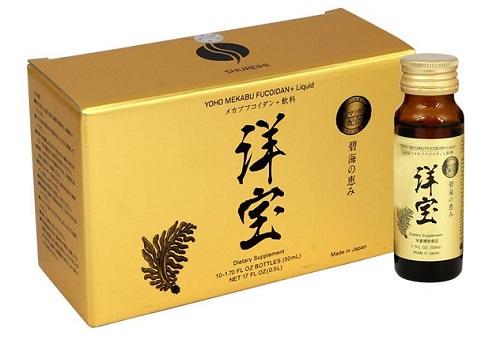Yoho Mekabu Fucoidan dạng nước Nhật Bản