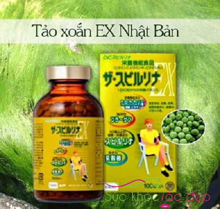 tảo vàng EX 1000 viên