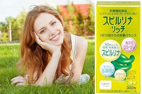 Tảo vàng Nhật Bản giúp làm đẹp da, giữ gìn sự trẻ trung thời xuân sắc