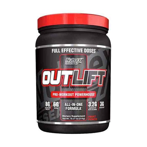 Nutrex Outlift 20 lần dùng