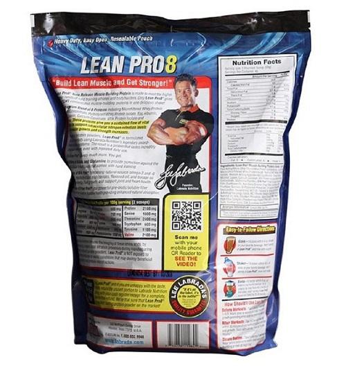 Sữa bột tăng cơ Labrada Lean Pro8
