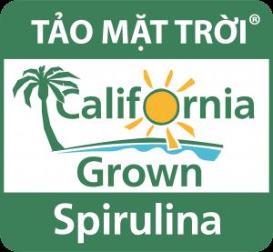 Logo của thương hiệu Tảo Mặt Trời Spirulina