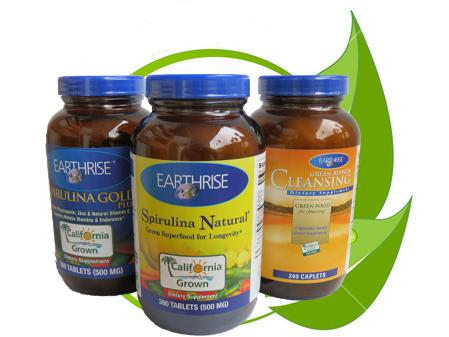 Bộ tảo mặt trời Spirulina giúp giảm cân hiệu quả