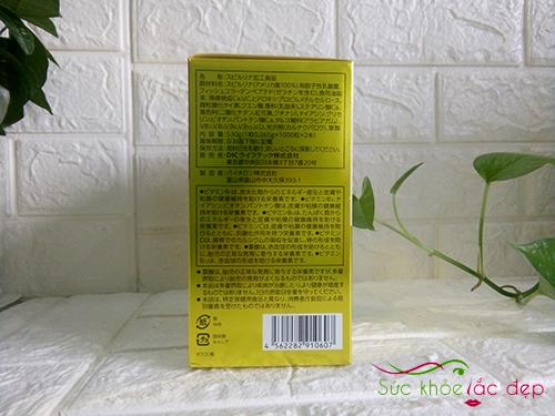 tảo vàng spirulina 2000 viên