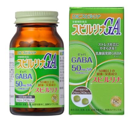 sản phẩm tảo xoắn Gaba Nhật Bản chính hãng tại suckhoesacdep.vn