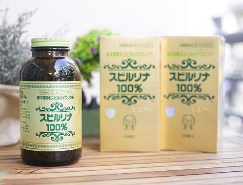 Tảo biển Spirulina Nhật Bản 2200 viên chăm sóc sức khỏe toàn diện