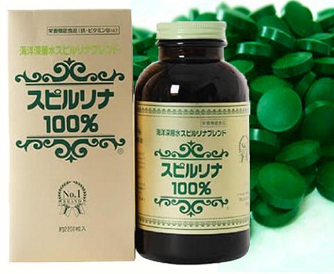 Mua tảo biển Spirulina Nhật Bản chính hãng giá rẻ tại suckhoesacdep.vn