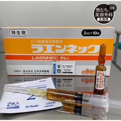 laennec placenta được khuyên dùng cho các chị em phụ nữ muốn làm đẹp da