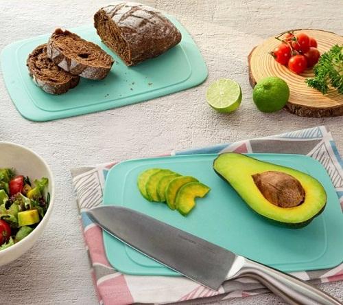 thớt cool stackables dùng để cắt thái thực phẩm và dùng làm khay đựng đồ ăn