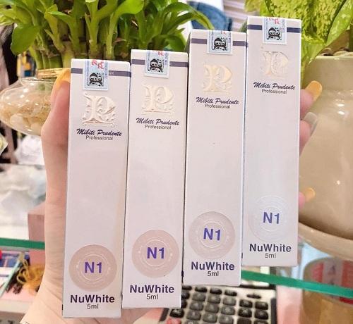 nuwhite n1 mibiti prudente professional an toàn cho sức khỏe người dùng