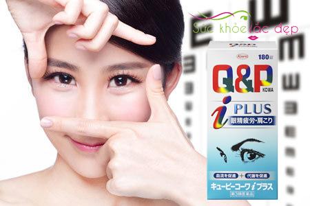 Viên uống bổ mắt Q&P Kowa Nhật Bản cải thiện sức khỏe đôi mắt
