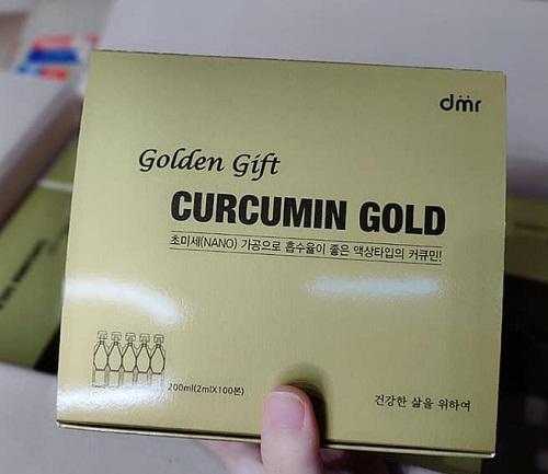 Nano Golden Gift Curcumin Gold an toàn cho sức khỏe người dùng