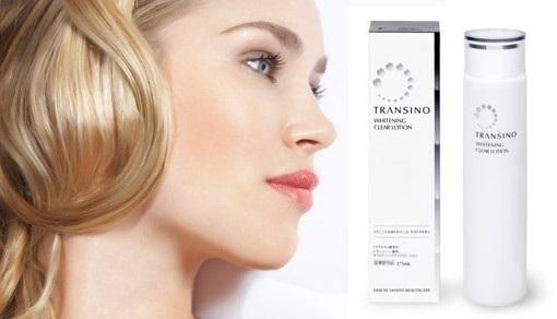 Sở hữu làn da trắng mịn trẻ trung bằng nước hoa hồng Transino Whitening Clear Lotion