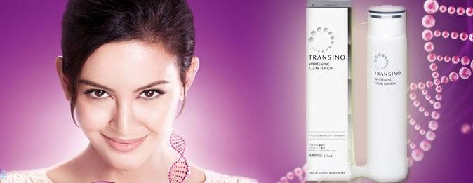 Sỡ hữu làn da bóng mịn với Transino Whitening Clear Lotion