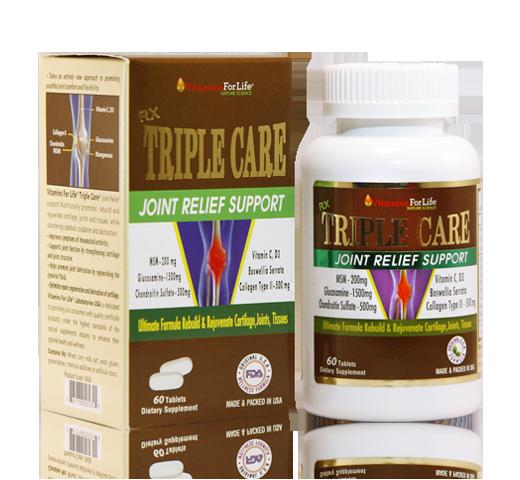 Triple Care Vitamins For Life tăng cường chắc khoẻ xuong khớp