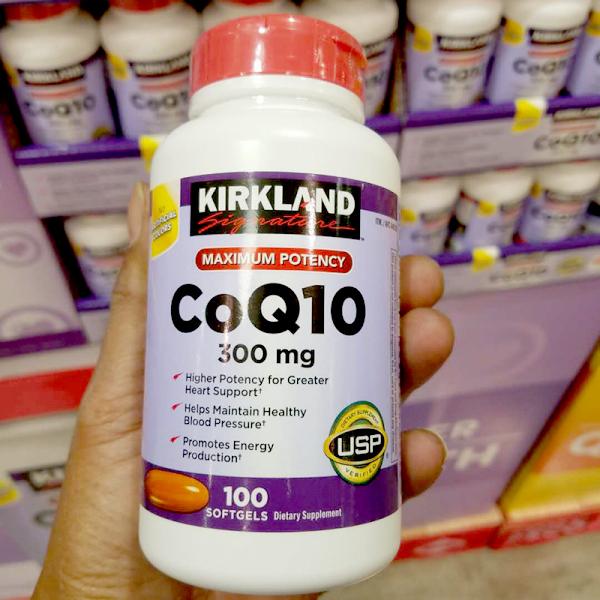 viên uống hỗ trợ tim mạch Kirkland CoQ10 300mg, 100 viên