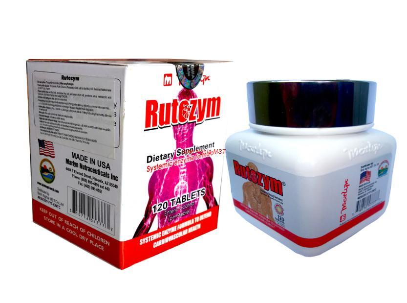 TPCN viên uống Rutozym-phòng chống đột quỵ