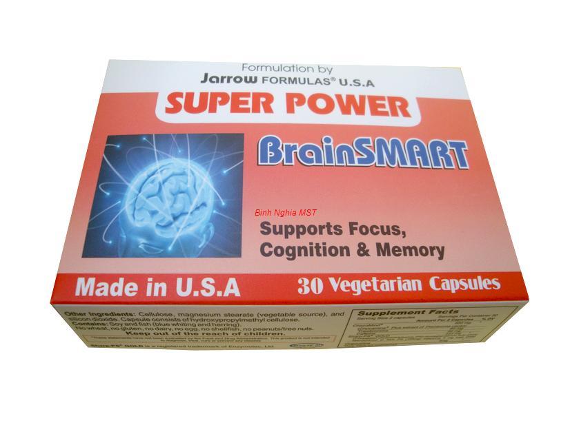 viên uống tăng cường chức năng naxp bộ - super power brainsmart