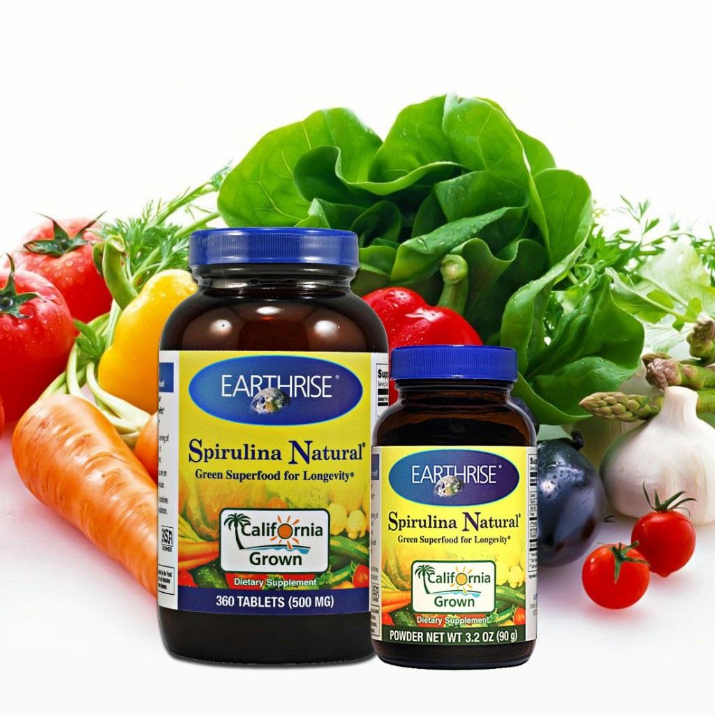 Công dụng của tảo SPirulina Natural giúp cơ thể tăng sức đề kháng