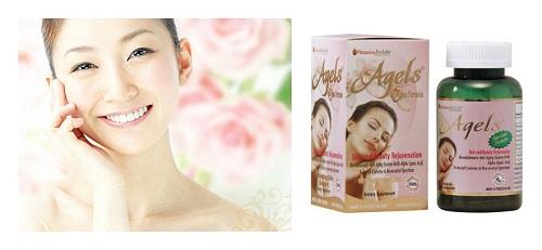 Image result for Viên Uống Trắng Da Vitamins For Life Agels
