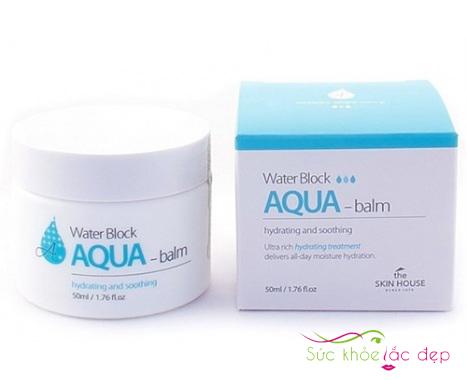 mua kem dưỡng the skin house water block aqua balm ở đâu tốt nhất?