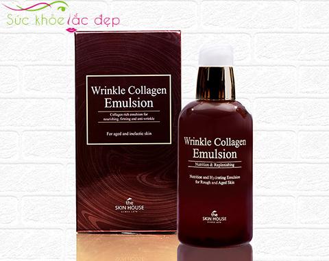 sữa dưỡng bổ sung collagen wrinkle collagen emulsion